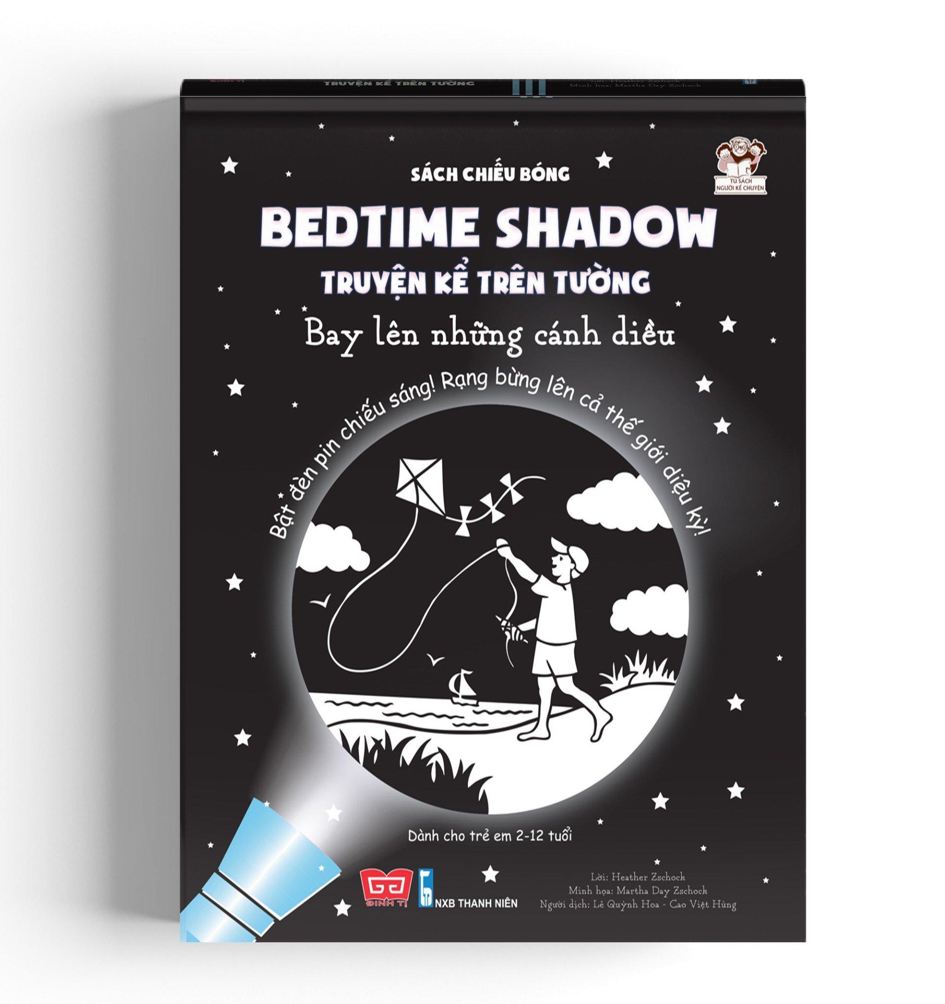 Sách chiếu bóng - Bedtime shadow – Truyện kể trên tường - Bay lên những cánh diều! (TB)
