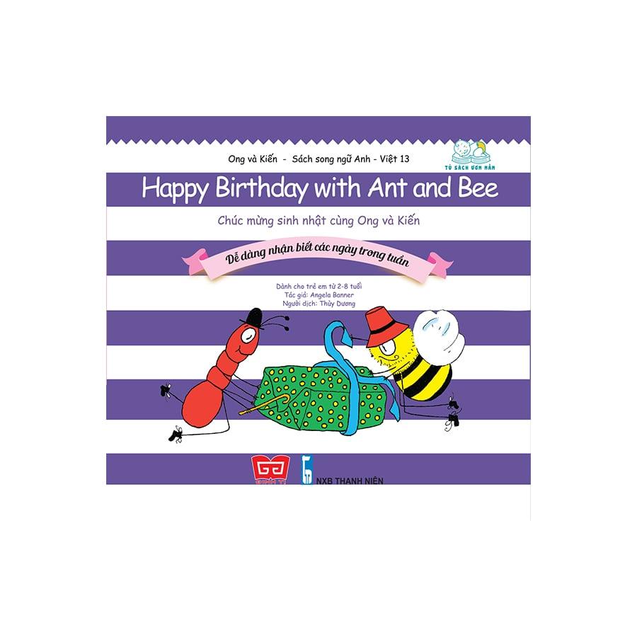 Ong và Kiến 13 - Happy Birthday with Ant and Bee - Chúc mừng sinh nhật cùng Ong và Kiến - Dễ dàng nhận biết các ngày trong tuần