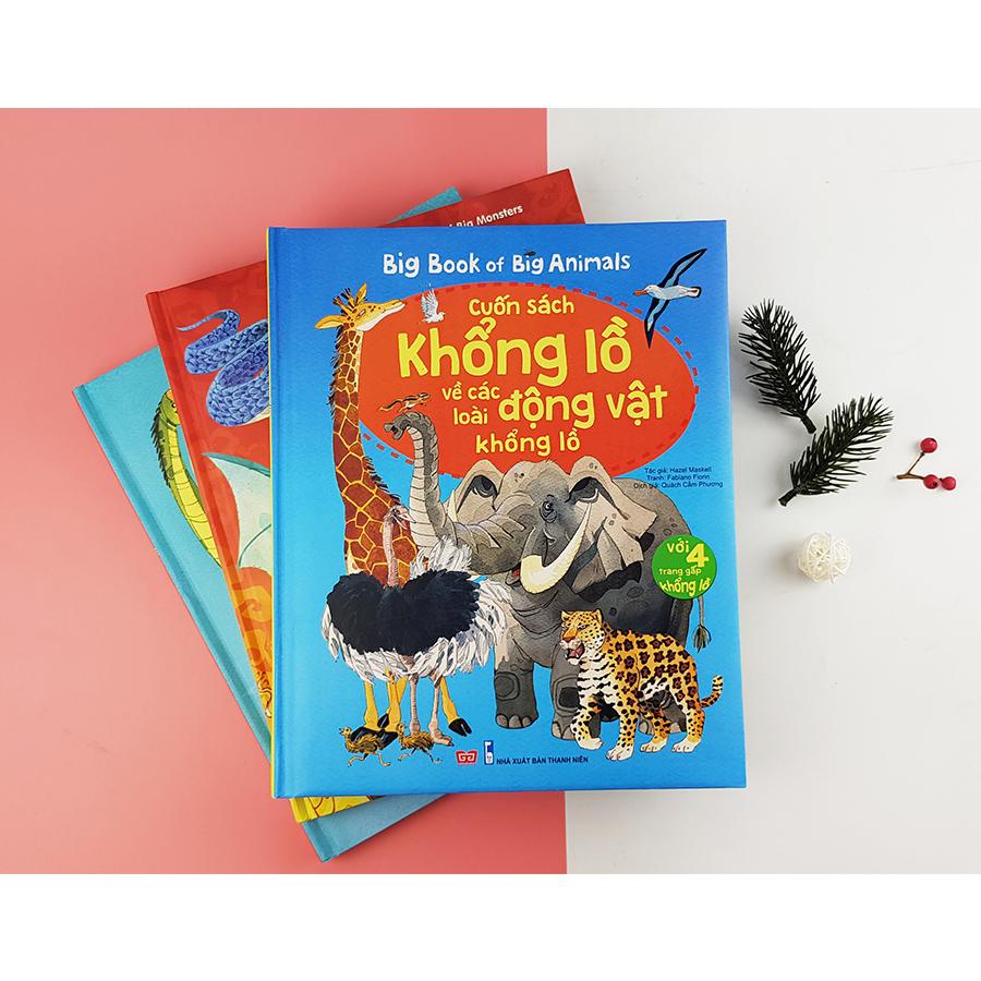 Combo Bigbook 1: động vật + quái vật + khủng long