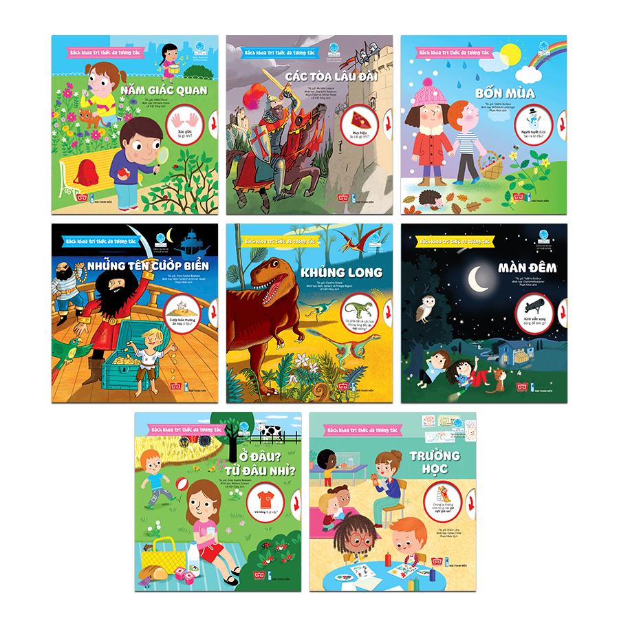 Set Bách khoa tri thức Đa tương tác (8 cuốn)
