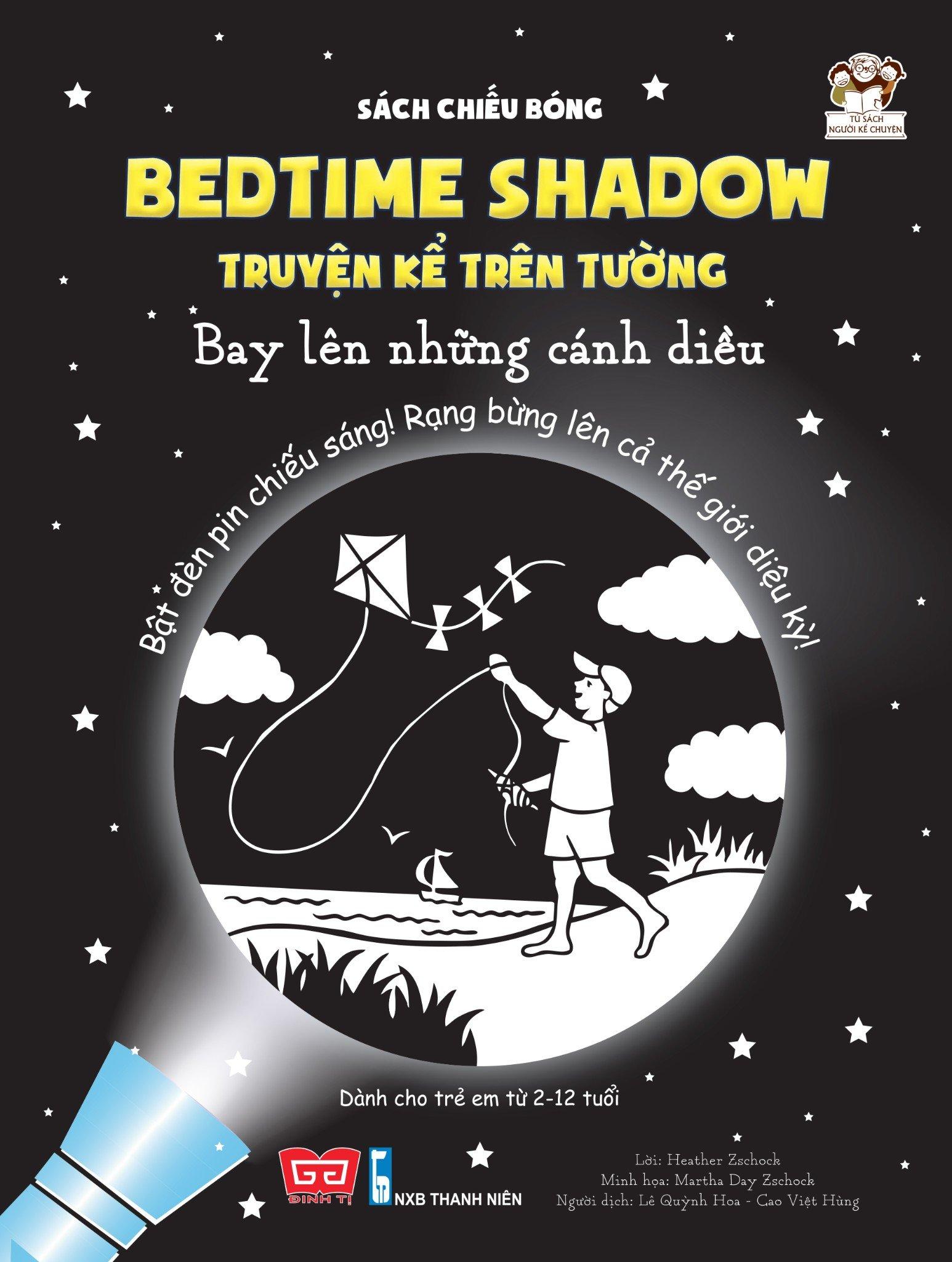 Sách chiếu bóng - Bedtime shadow – Truyện kể trên tường - Bay lên những cánh diều!