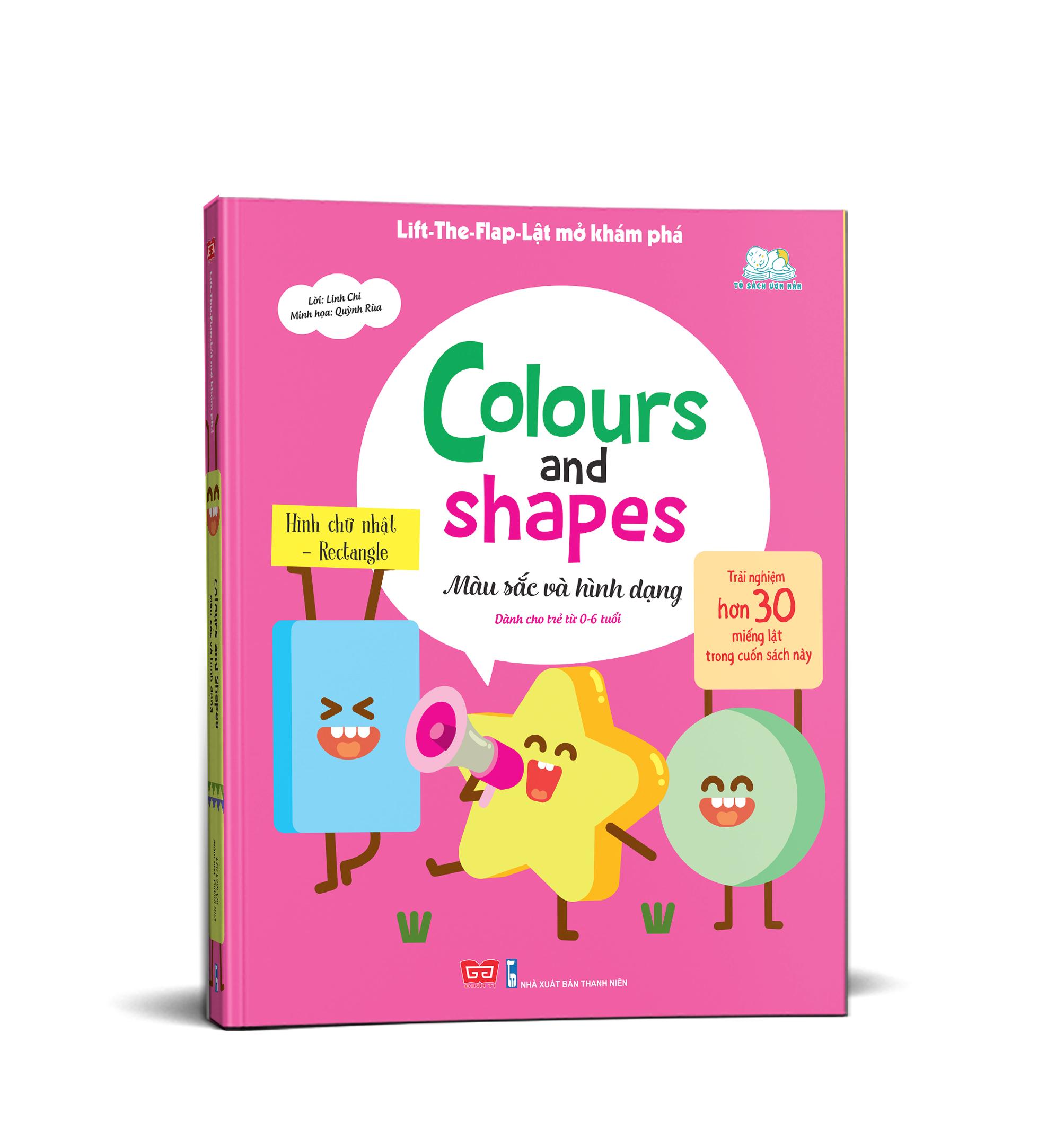 Lift-The-Flap - Lật mở khám phá - Colours and Shapes - Màu sắc và hình dạng