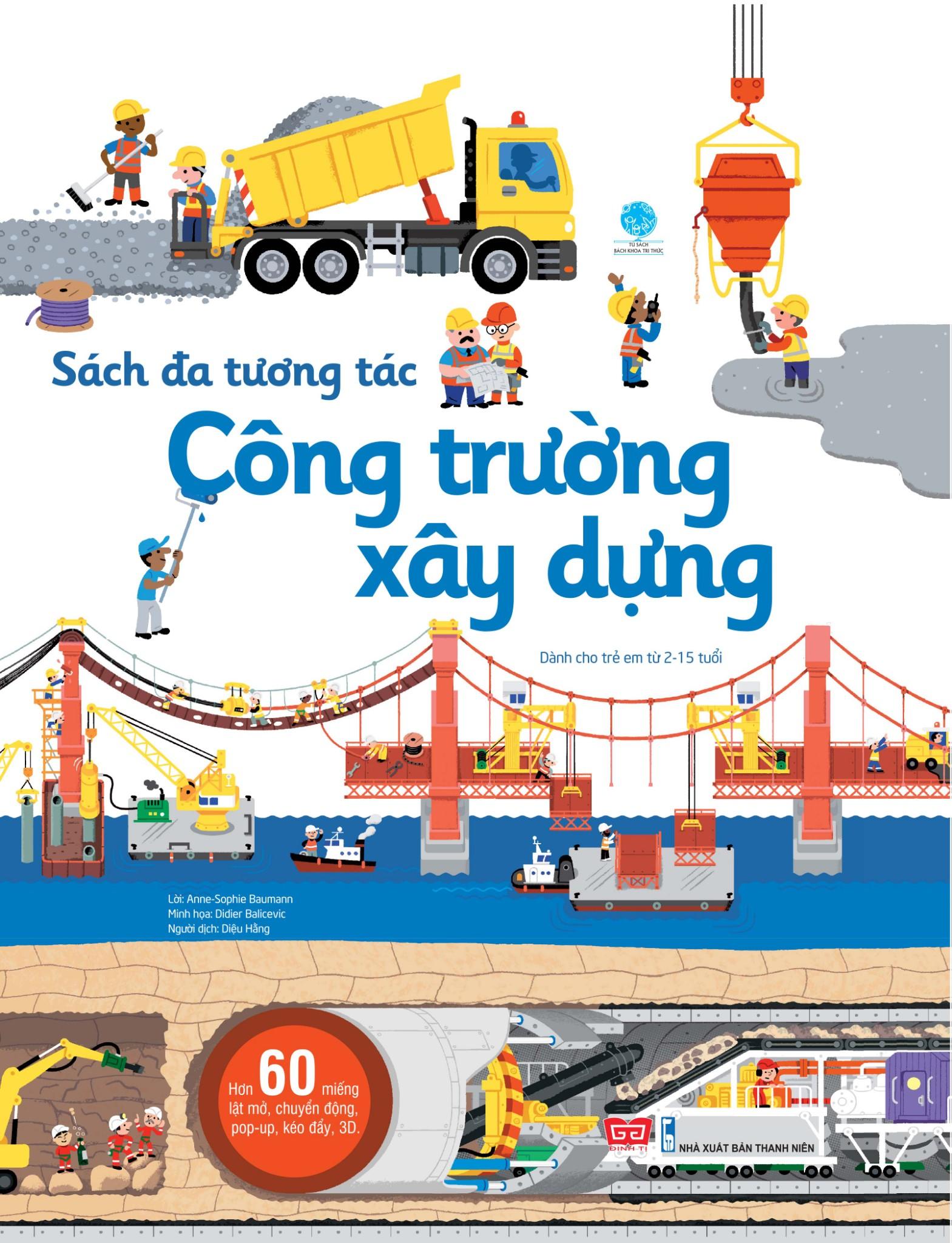 Sách đa tương tác - Công trường xây dựng