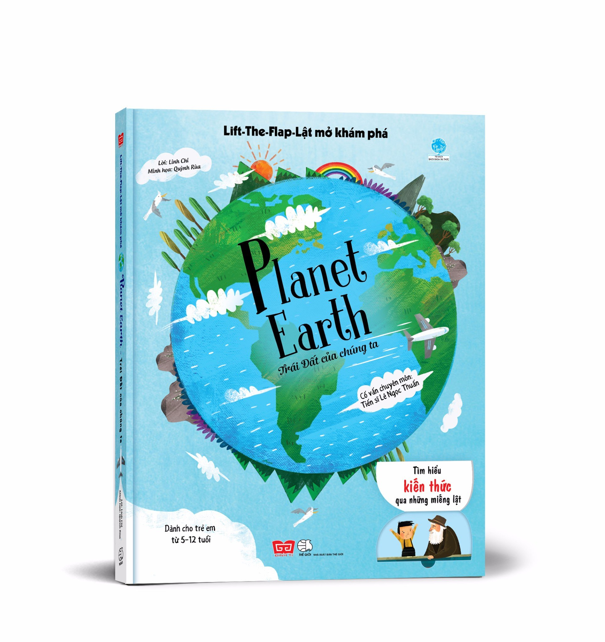 Lift-The-Flap - Lật mở khám phá - Planet Earth - Trái Đất của chúng ta