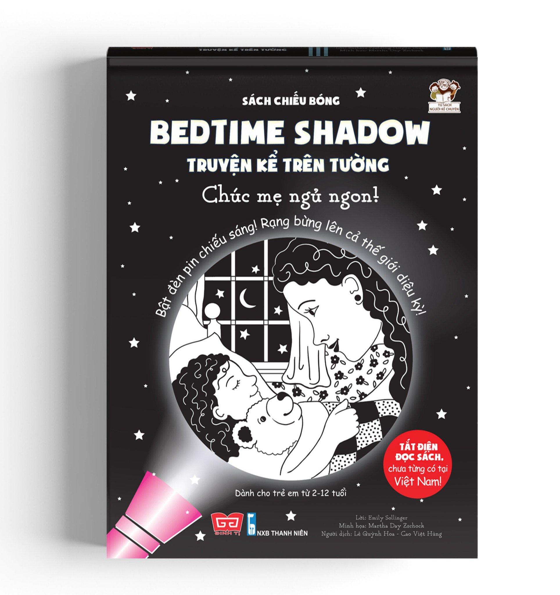 Sách tương tác - Sách chiếu bóng - Bedtime shadow – Truyện kể trên tường - Chúc mẹ ngủ ngon!