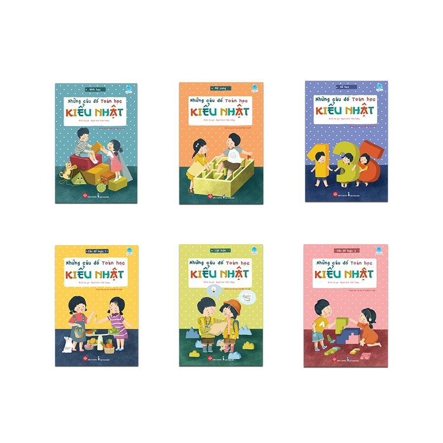 Những câu đố toán học kiểu Nhật (6 cuốn)