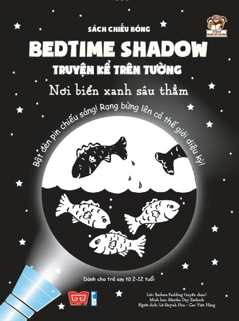 Sách chiếu bóng - Bedtime shadow – Truyện kể trên tường - Nơi biển xanh sâu thẳm