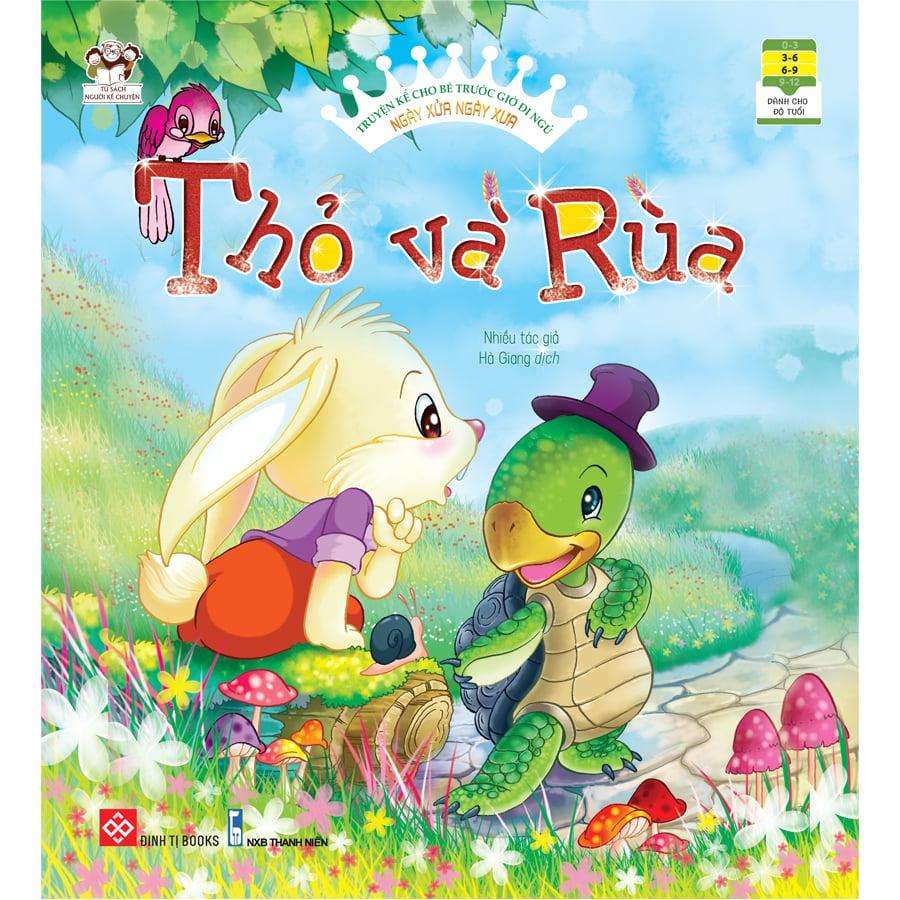 Truyện kể cho bé trước giờ đi ngủ - Ngày xửa ngày xưa - Thỏ và Rùa