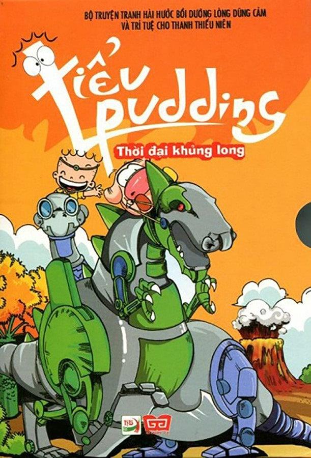 Hộp sách: Tiểu Pudding - TĐ Khủng long