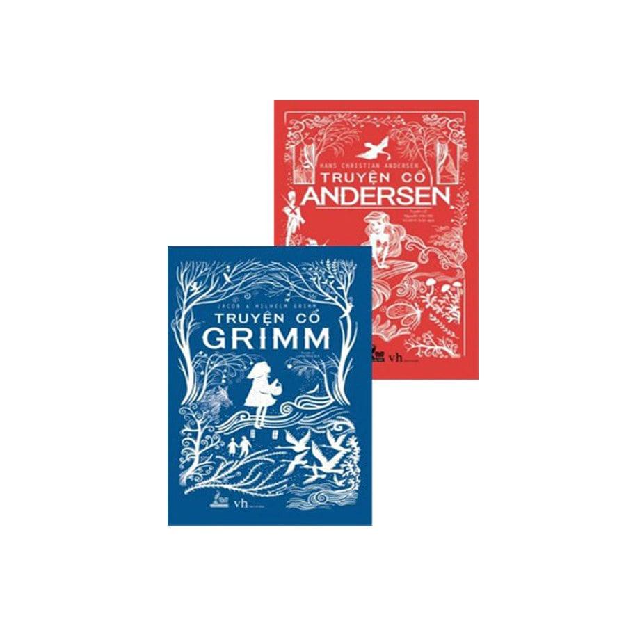 Combo hộp: Truyện cổ Grimm bìa mềm + Truyện cổ Andersen bìa mềm