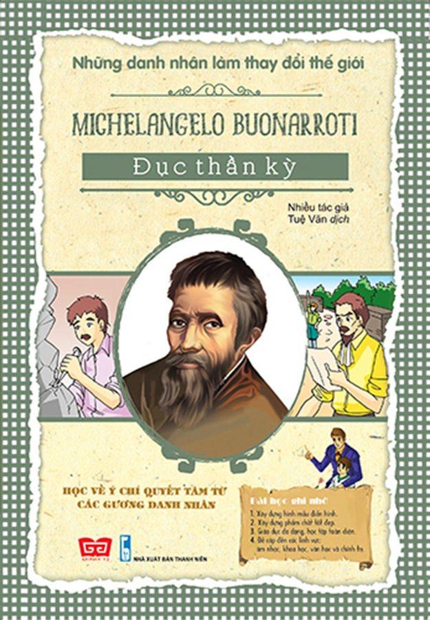 NDNLTDTG - Michelangelo Buonarroti - Đục thần kỳ