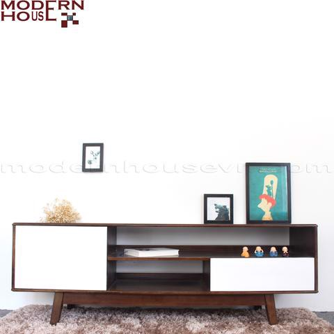 Baron TV cabinet - Black-Blue
