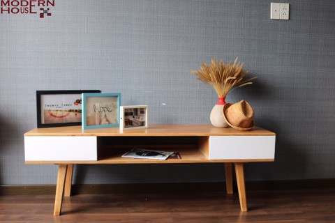 Nora TV cabinet - Natural