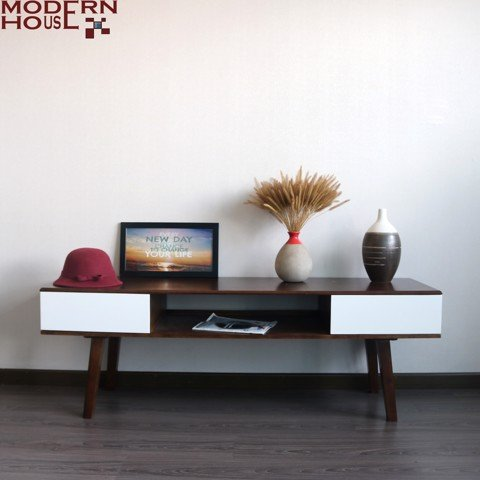 Nora TV cabinet - walnut