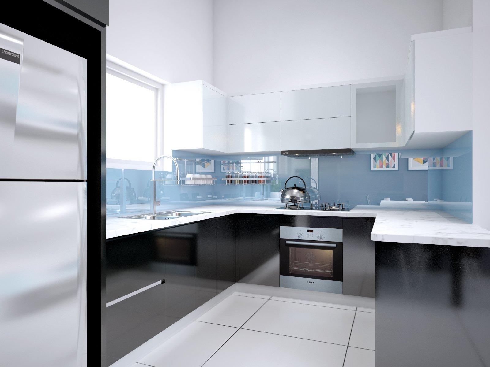 Thiết kế, Thi công tủ bếp công trình Dĩ An