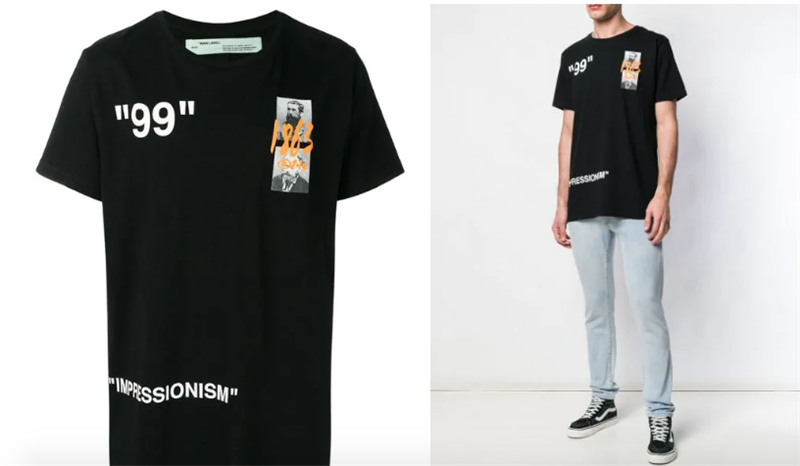 OFF-WHITE Summer printed T-shirt 1863 (1:1)