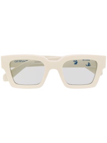 Off-White Arrows plaque square-frame sunglasses