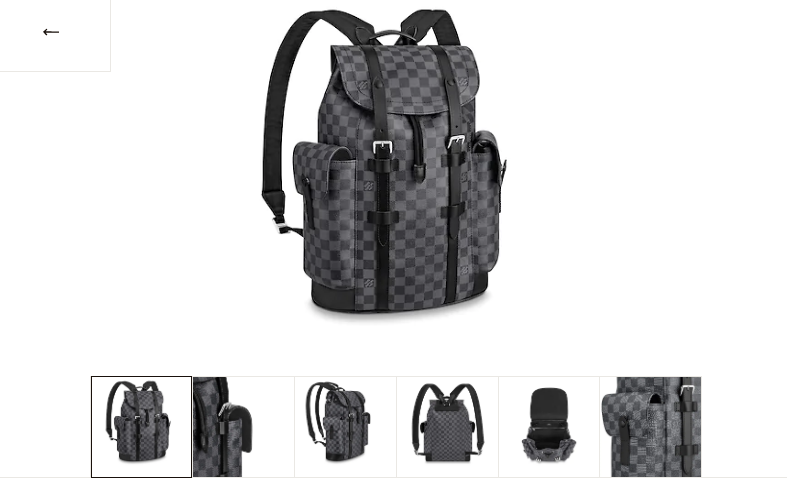 LV CHRISTOPHER PM BACKPACK