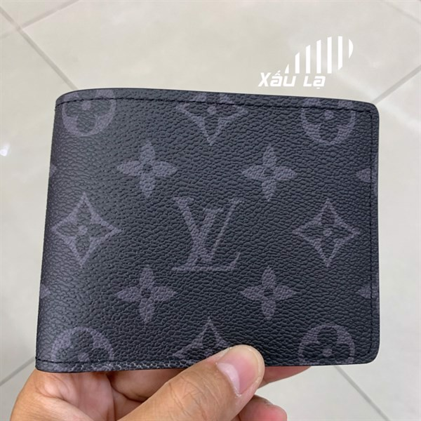 LV multiple wallet monogram canvas black (best quality)