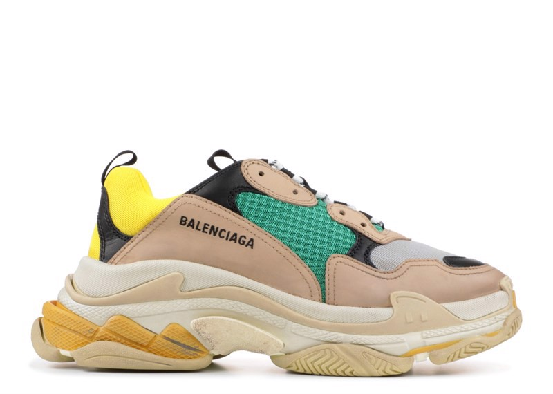 BALENCIAGA TRIPLE S ''YELLOW GREEN (PK)