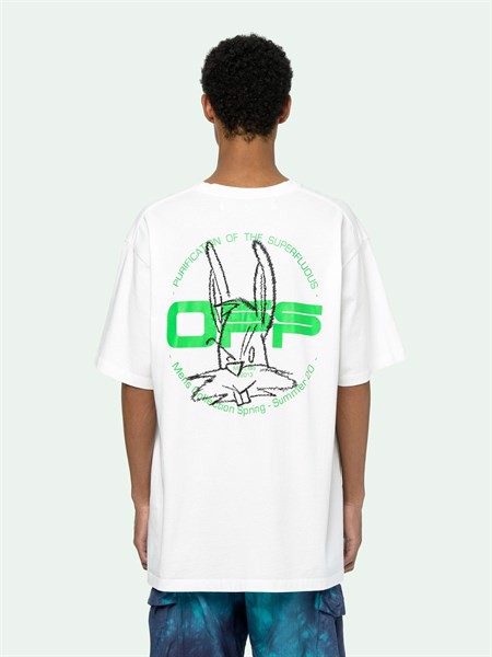 OFF-WHITE HARRY THE BUNNY S/S T-SHIRT (1:1)
