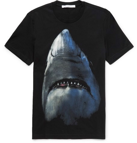 GIVENCHY Shark T-Shirt (best)