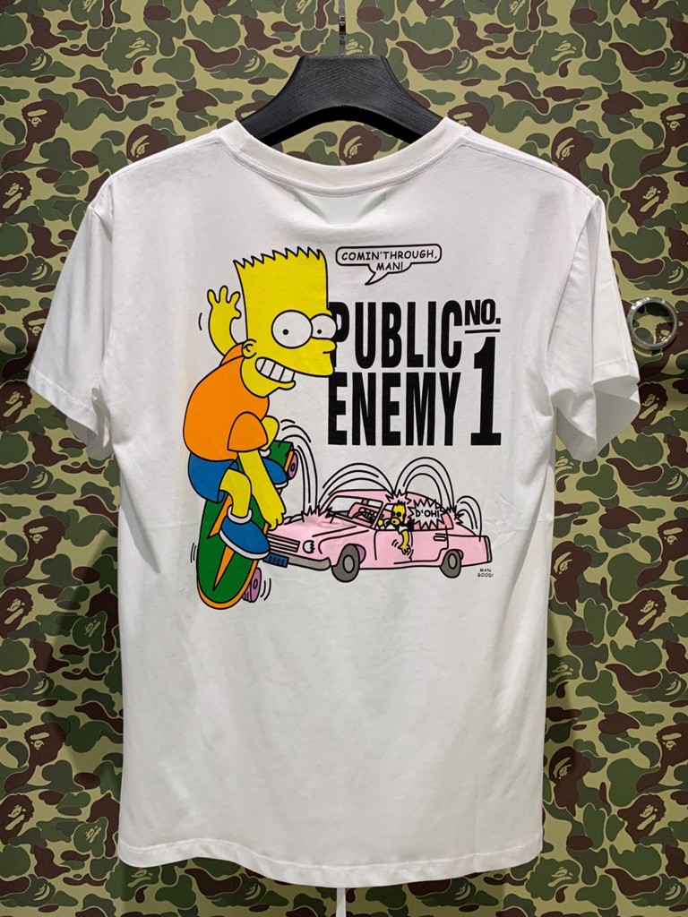 OFF WHITE SIMPSON T-SHIRT