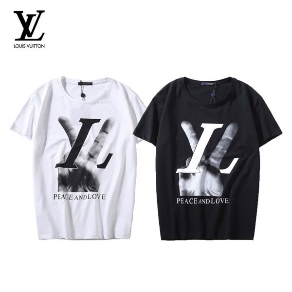 LOUIS VUITTON HAND PEACE AND LOVE T SHIRT(1:1)
