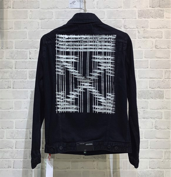 Off White 19FW Industrial Denim Jacket (1:1)