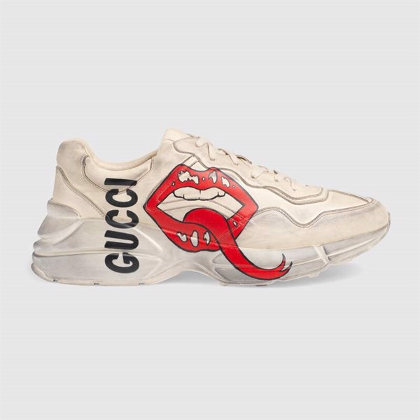 GUCCI Rhyton sneaker with mouth print (PK)