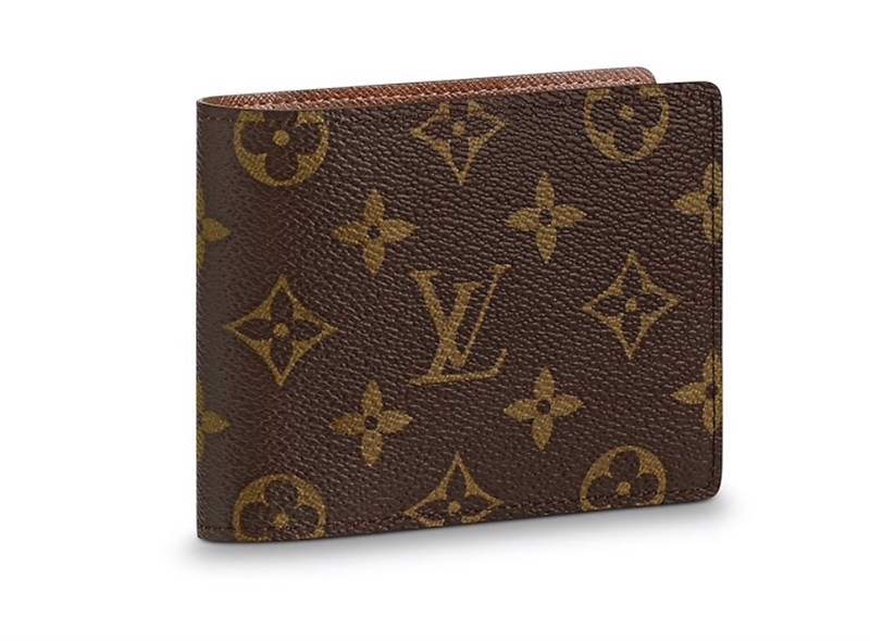 Louis Vuitton multiple wallet monogram canvas brown (best)