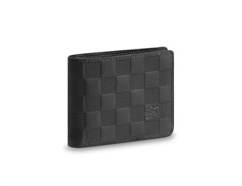 MULTIPLE WALLET Damier Infini Leather Onyx (best)