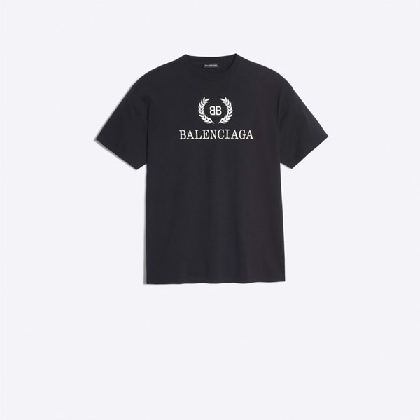 BB BALENCIAGA T-SHIRT black (1:1)