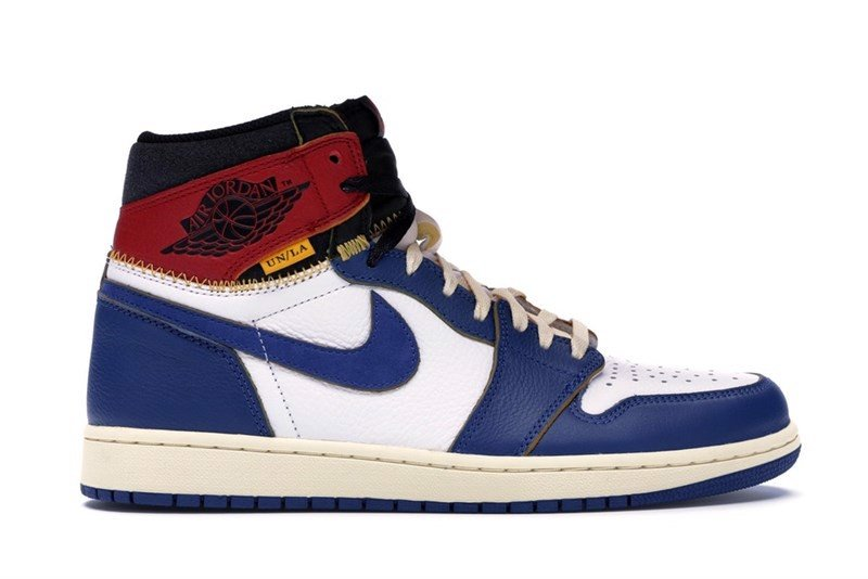 Jordan 1 Retro High Union Los Angeles Blue Toe (PK)