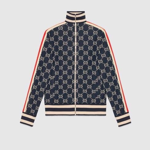 GG jacquard cotton jacket (1:1)
