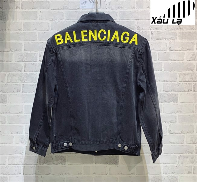 BALENCIAGA LOGO DENIM JACKET (1:1)