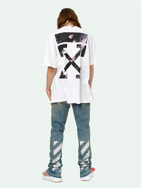 OFF-WHITE CARAVAGGIO ARROWS S/S T-SHIRT (:1)