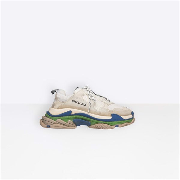 BALENCIAGA TRIPLE S TRAINER WHITE/NAVY (1:1)