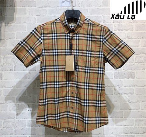 BBR Vintage Check Short-Sleeve Shirt (1:1)