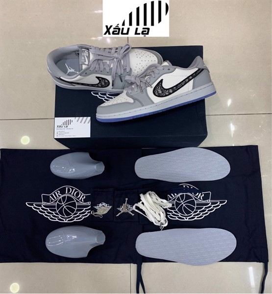 Dior x Air Jordan 1 Low (best quality)