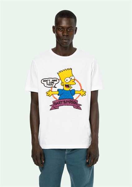 OFF WHITE BART T-SHIRT Simpson 1:1
