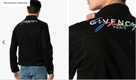 GIVENCHY LOGO DENIM JACKET (1:1)
