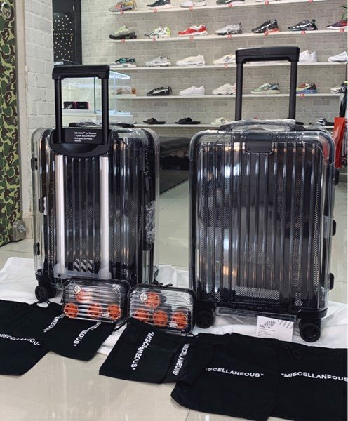 OFF-WHITE X RIMOWA Transparent Carry-On (36L)
