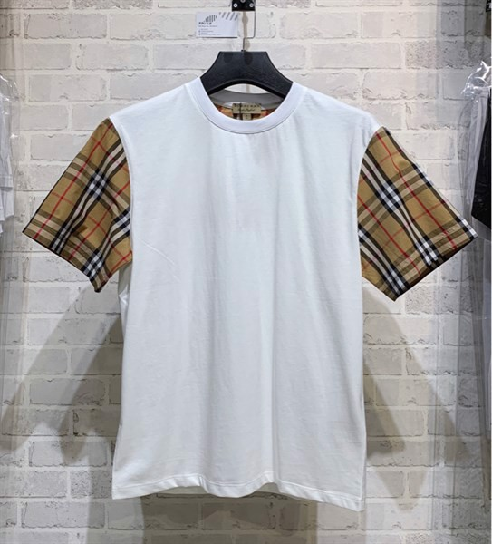 Burberry Serra Vintage Check Sleeve T-shirt (1:1)