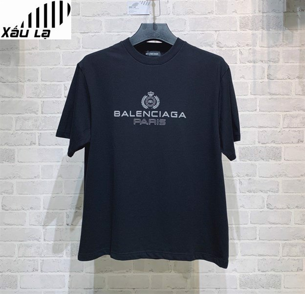 Balenciaga Paris Laurel Regular T-Shirt (1:1)