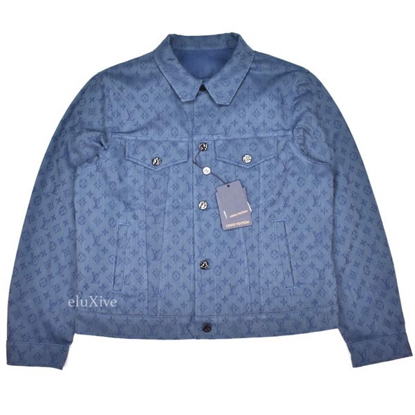 LV x VIRGIL ABLOH Monogram Denim Jacket (1:1)