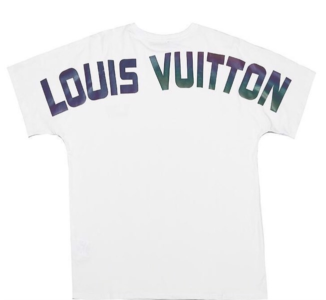 LOUIS VUITON T-SHIRT PRINT BACK