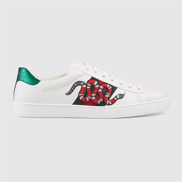 GUCCI Ace embroidered SNAKE sneaker (PK)