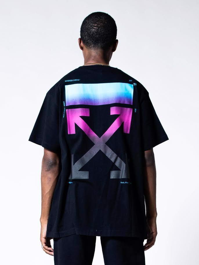 OFF-WHITE Gradient Oversized T-Shirt