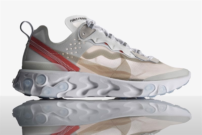 Nike React Element 87 Sail Light Bone(1:1)